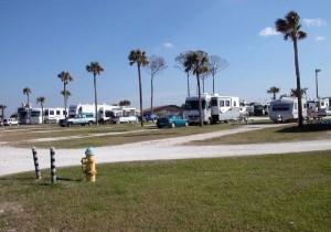 RV Park Area in Jacksonville, Florida