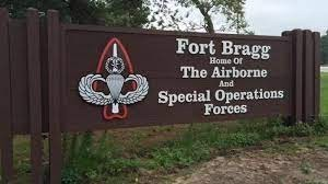 Fort Bragg Army- sign