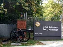 Fort Hamilton Army Base-sign