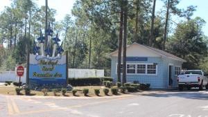 Blue Angel Recreation Park in Pensacola, Florida