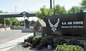 Malmstrom Air Force Base-sign