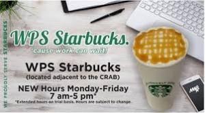 WPS Starbucks-NSB Kings Bay new hour