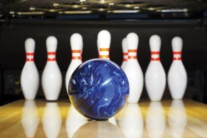 Bowling Pin and Ball in Texas, Fort Hood