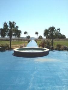 Mustin beach Pool in Pensacola, Florida