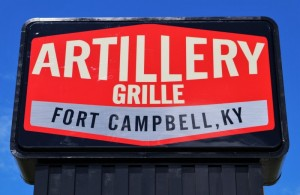 Artillery Grille Signage in Kentucky, Fort Campbell