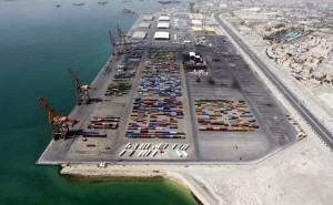 Port in Manama, Bahrain