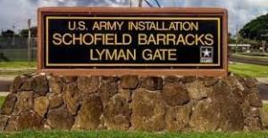schofield barracks-lyman gate