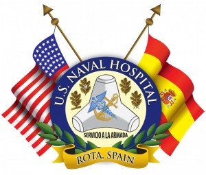 U.S. Naval Hospital Logo in Rota, Spain