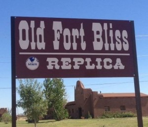 Old Fort Bliss Logo in El Paso, Texas