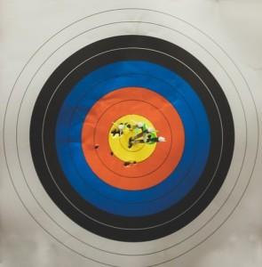 Bullseye Target in Kentucky, Fort Campbell