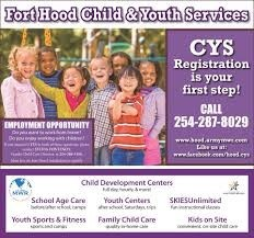 CYS Registration in Texas, Fort Hood