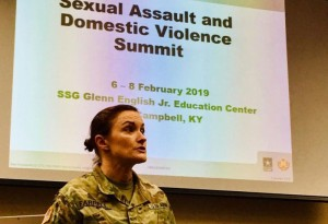 Sexual Assault Summit in Kentucky, Fort Campbell