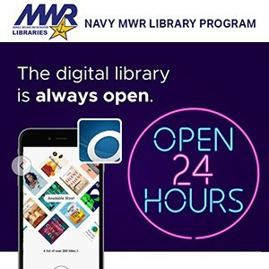 Navy MWR Digital Library- NSB Kings Bay time sign