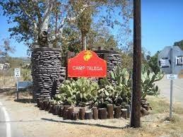 camp talega- sign