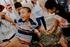 Children Playing in Rota, Spain