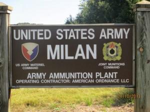 Milan Army Ammunition Plant