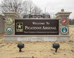 Picatinny Arsenal-sign