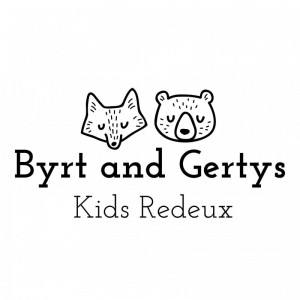Byrt and Gerty's Kids Redeux Logo in Tacoma, Washington State