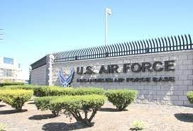 los angeles air force base-sign