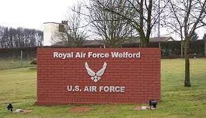 Royal Air Force Welford-sign