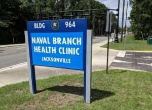 Branch Health Clinic Signage in Jacksonville, Florida