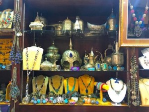 Inside Roshan Antique in Manama, Bahrain