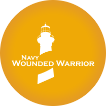 Navy Wounded Warrior Logo in Connecticut, New London