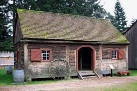 Fort Nisqually Living Museum House in Tacoma, Washington State