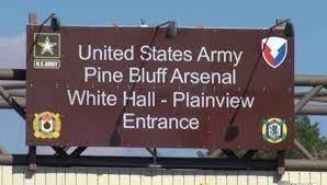 USAG Pine Bluff Arsenal-sign