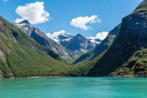 Tracy Arm Fjord in Alaska