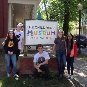 The Children's Museum at Saratoga- sign