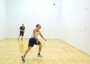 NBPL Racquetball courts