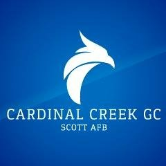 Cardinal Creek Golf Course Logo in Illinois, Scott AFB