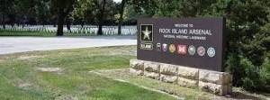 usag Rock Island Arsenal-sign