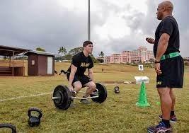 Military Training in Wahiawa, Hawaii