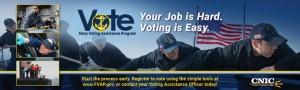 Navy Voting - NAS Oceana- logo