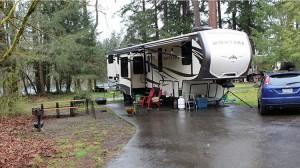 Travel Camp in Tacoma, Washington State