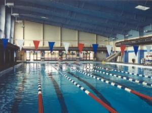 Replica Aquatic Center in El Paso, Texas