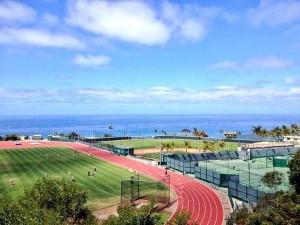 Soccer Field in San Diego, California