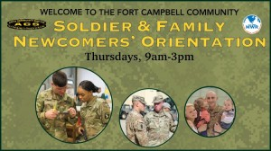 New Commers Orientation Banner in Kentucky, Fort Campbell