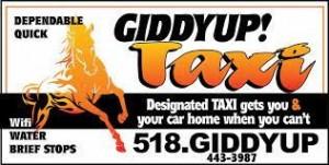 GiddyUp Saratoga Taxi- 1