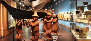 Suquamish Museum Display in Washington