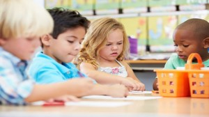 Children were in Classroom in Schofield Barracks