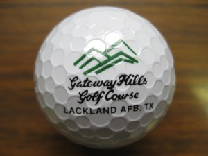 Lackland Golfball in Texas, San Antonio