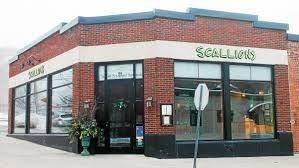 scallions saratoga springs- building