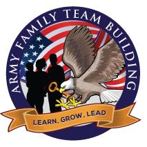 Army Family Team Building Logo in El Paso, Texas
