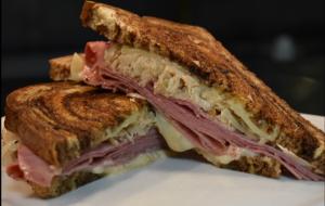 Deweys Ham and Cheese Sandwich in Jacksonville. Florida