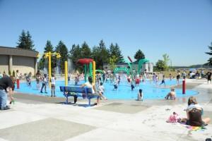 Outside Pool in Tacoma, Washington State