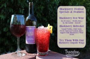 Blackberry Fest Wine in Bremerton, Washington