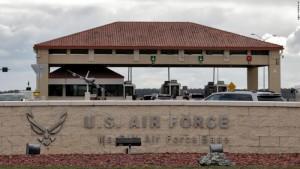 MacDill  Air Force Base- sign 1